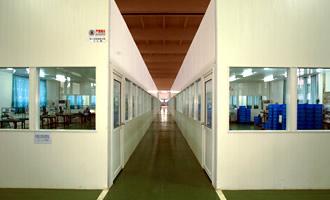 尼崎製罐株式会社 広州神崎圧鋳有限公司 工場内
